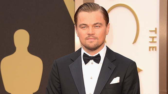 Rock star: Chelyabinsk awards DiCaprio an Oscar of its own