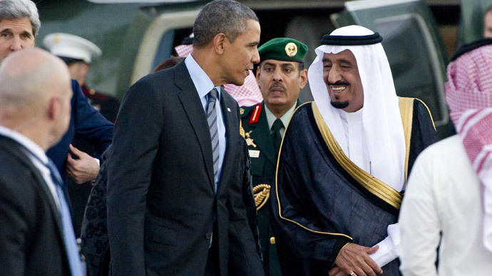 ​Obama ignores Saudi human rights record in meeting with King Abdullah