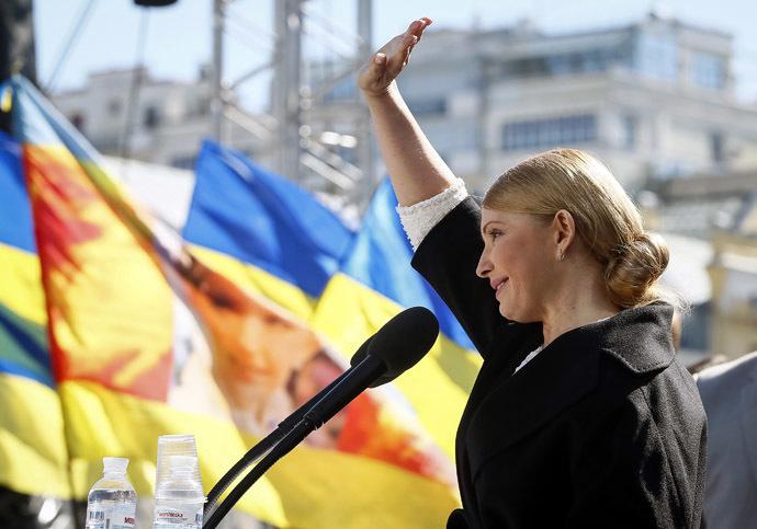 Yulia Tymoshenko (Reuters/Gleb Garanic)