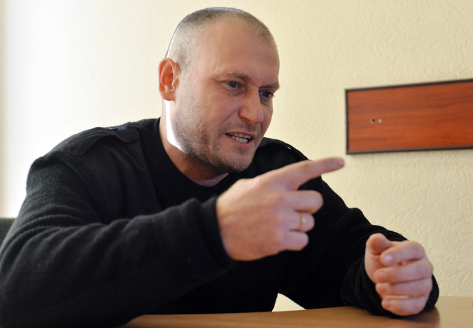 Dmitry Yarosh (AFP Photo/Sergei Supinsky)