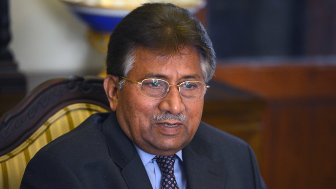Pakistani ex-President Musharraf charged with high treason