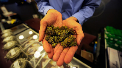 Washington pot grower sues state over taxing federal crime