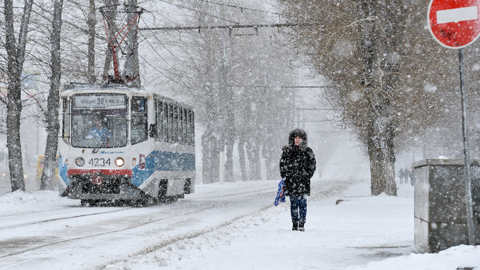 No April Fool's! Moscow spring disappears under piles of snow