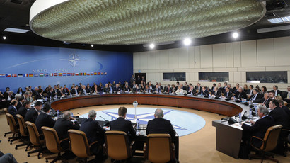 Bombs for peace: NATO marks 65 year anniversary