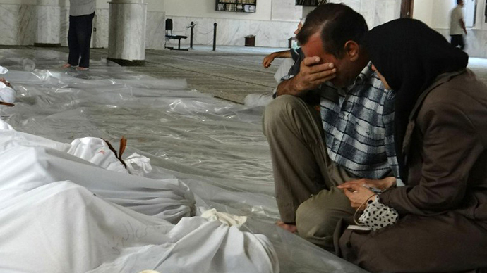 Militants in Syria prepare chemical attack in Damascus – UN envoy
