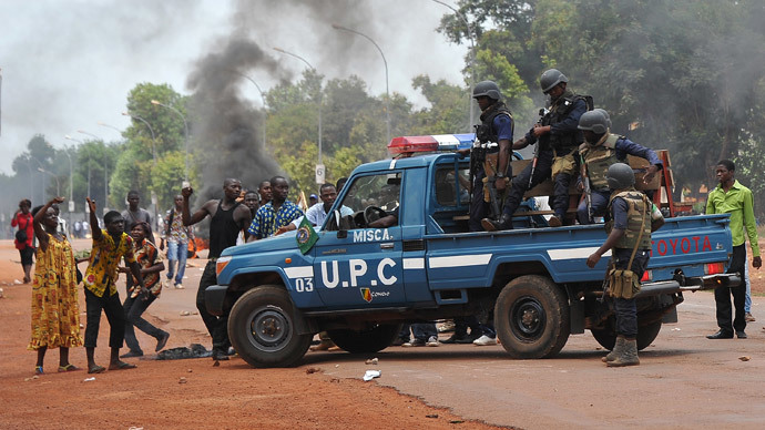 EU agrees to launch military operation in Central African Republic