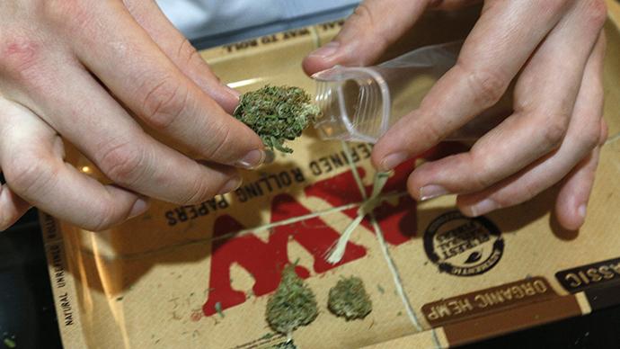 Washington DC decriminalizes possession of up to an ounce of marijuana