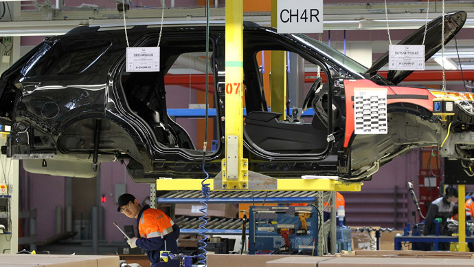 Ford Sollers axes 700 jobs in Russia