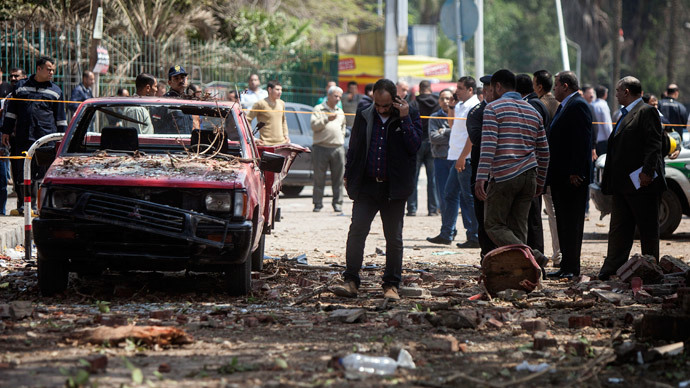 Series of explosions kill 3 outside Cairo University (VIDEO)