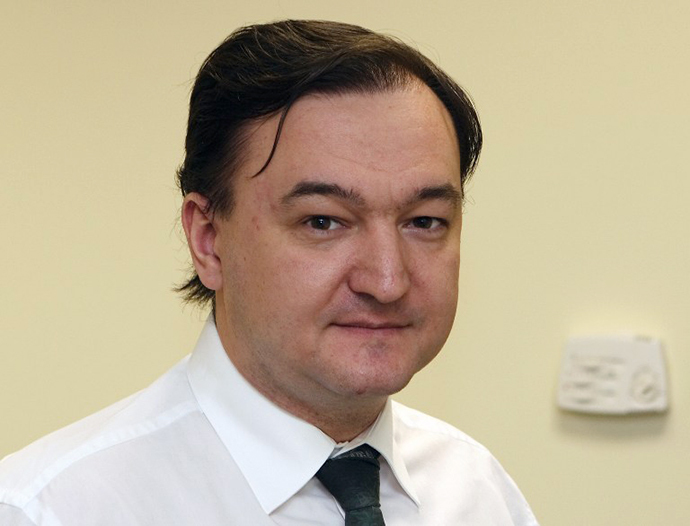 A handout photo provided on Novenber 15, 2010 by Hermitage Capital Management and taken on December 29, 2006 shows Russian lawyer Sergei Magnitsky in Moscow. (AFP Photo)