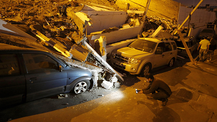 7.6 aftershock hits same area of northern Chile as Tuesday's 8.2 quake