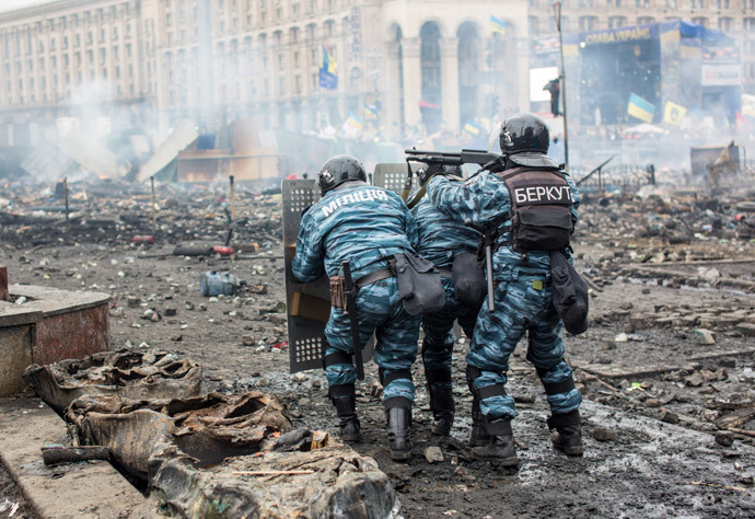 Kiev on February 19, 2014 (RIA Novosti / Andrey Stenin)