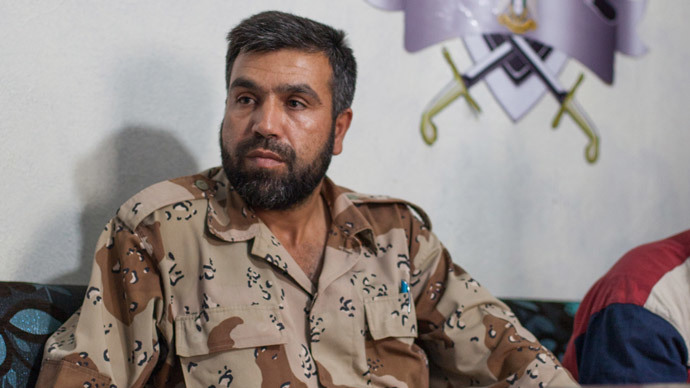 Rebel leader supported by the West admits he fights alongside Al-Qaeda
