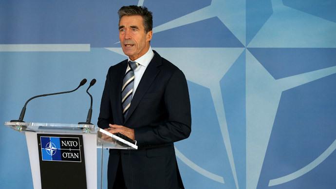 NATO Secretary-General Anders Fogh Rasmussen.(Reuters / Yves Herman)