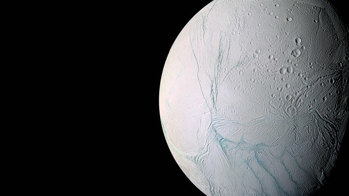 Large sea found deep under ice on Saturn moon