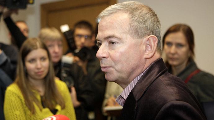 Aivars Lembergs, Mayor of Ventspils (Reuters/Ints Kalnins)