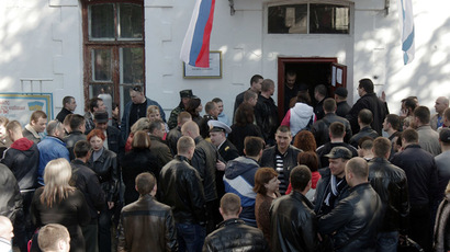 Pro-Russian protesters seize govt buildings in Ukraine's Donetsk, Lugansk and Kharkov