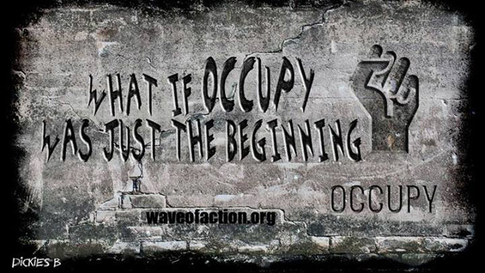 #Reoccupy the world: WaveOfAction sweeps the globe