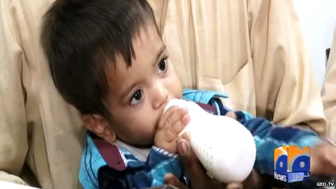 Child's play: Pakistani 9-month-old baby accused of attempted murder