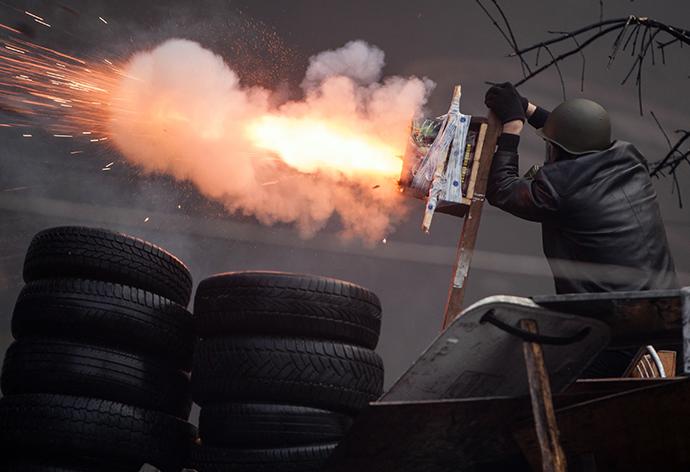 Kiev February 20, 2014. (Reuters / )