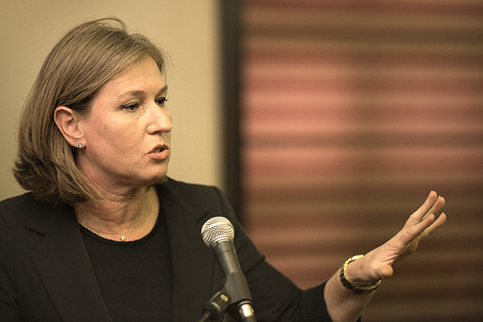 Israeli opposition leader Tzipi Livni (AFP Photo / Marco Longari)