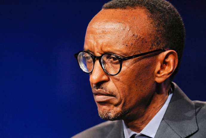 H.E. Paul Kagame, President of the Republic of Rwanda (Reuters / Gus Ruelas)