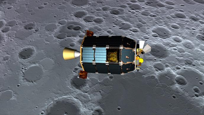 NASA's Lunar Atmosphere and Dust Environment Explorer (LADEE) spacecraft (Reuters)