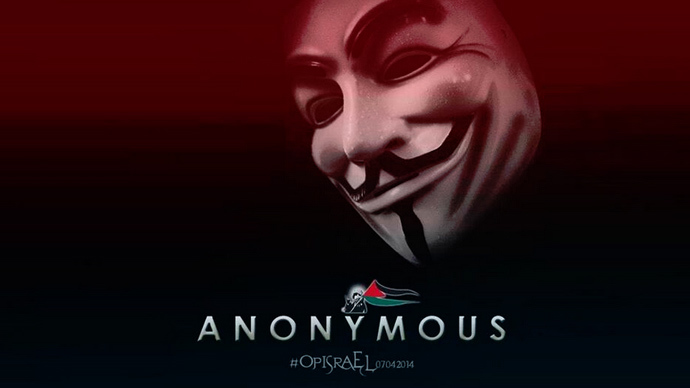 #OpIsrael: Anonymous attacks hundreds of Israeli websites
