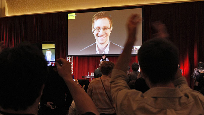 Metadata monitoring more intrusive than eavesdropping - Snowden and Greenwald