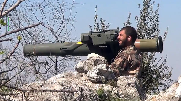 US reportedly starts supplying Syrian rebels with anti-tank weapons
