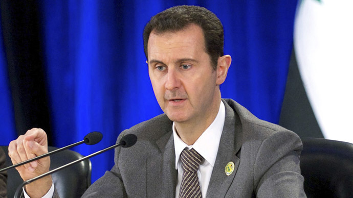 'Active phase' of Syrian conflict will be over in 2014 – Assad to Russian ex-official