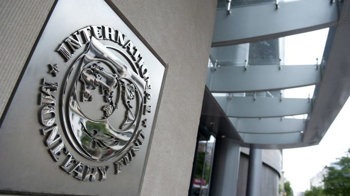 Slashed: IMF cuts Russia growth forecast to 1.3 % over 'geopolitical risk'