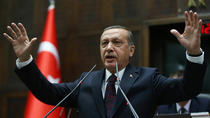 Turkey's Prime Minister Recep Tayyip Erdogan.(AFP Photo / Adem Altan )