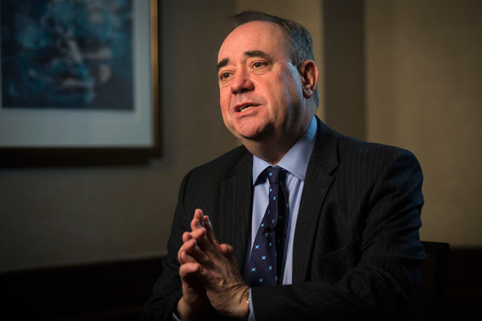 First Minister of Scotland Alex Salmond (Reuters / Brendan McDermid)