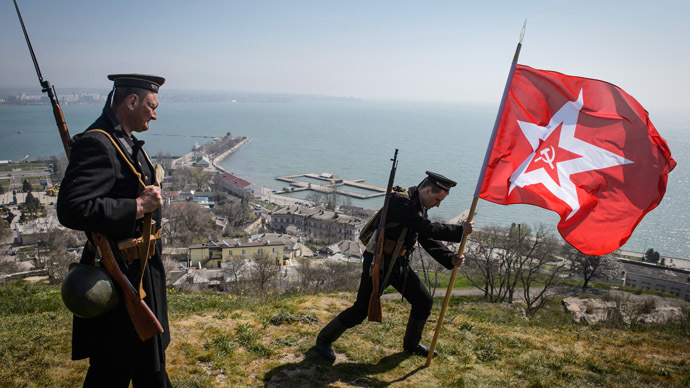 Battlefield Balaklava celebrates 70th anniversary of liberation from Nazis