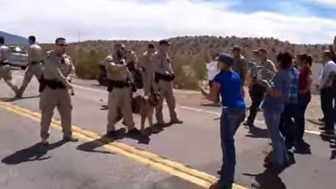 Heavily-armed feds surround Nevada Bundy ranch, confiscate cattle (VIDEO)