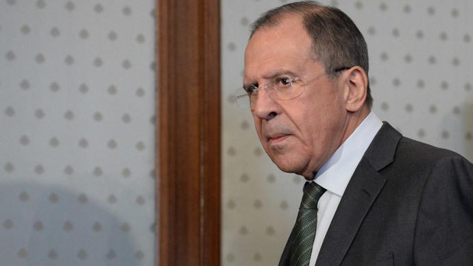 Russian Minister of Foreign Affairs Sergei Lavrov.(RIA Novosti / Sergey Kuznecov)