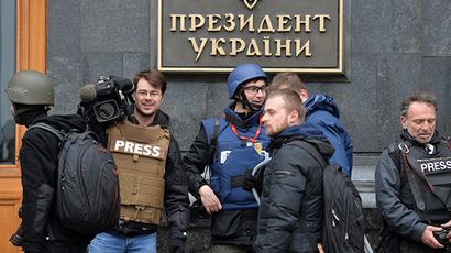 'Only widens gap': Outrage as 20+ Russian journalists barred from entering Ukraine