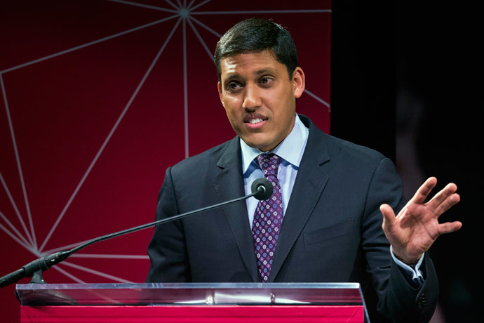 U.S. Agency for International Development (USAID) Administrator Rajiv Shah.(Reuters / Lucas Jackson)