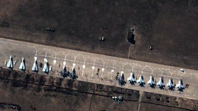 NATO's Russian troop build-up satellite images 'show 2013 drills'