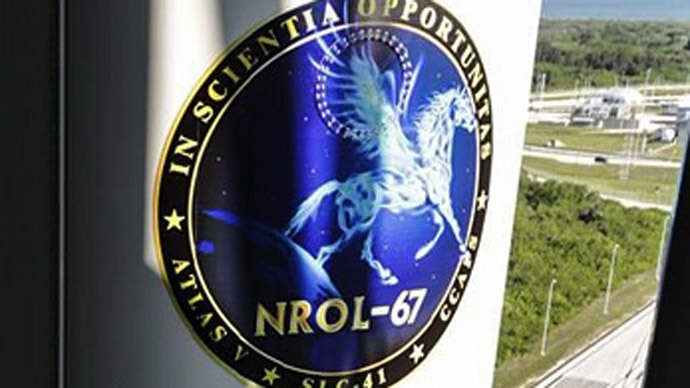 The mission patch for NROL-67 (Photo from nasaspaceflight.com)