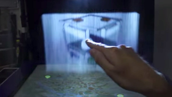 ​Misty-eyed: Nifty holographic computer interface thinks BIG with thin air