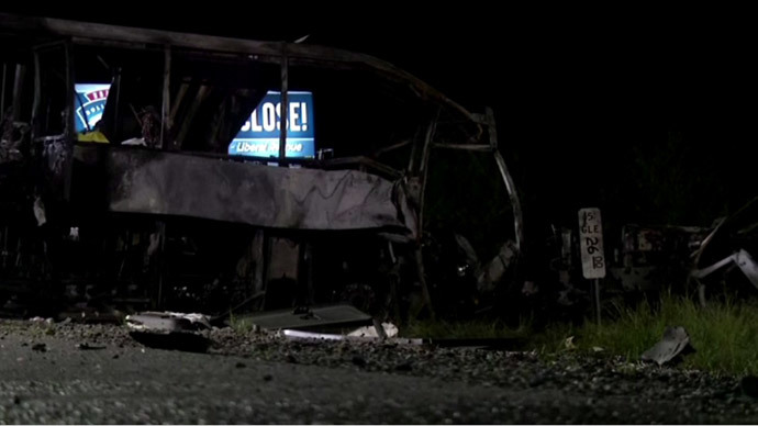 Ten dead, dozens injured in horrifying California crash (VIDEO)