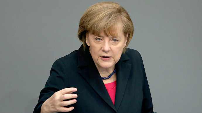 EU taking Putin's letter on gas transit 'seriously' – Merkel