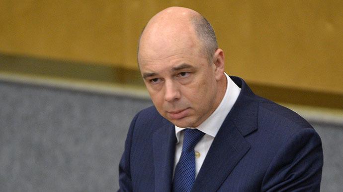 Finance Minister Anton Siluanov (RIA Novosti / Vladimir Fedorenko)