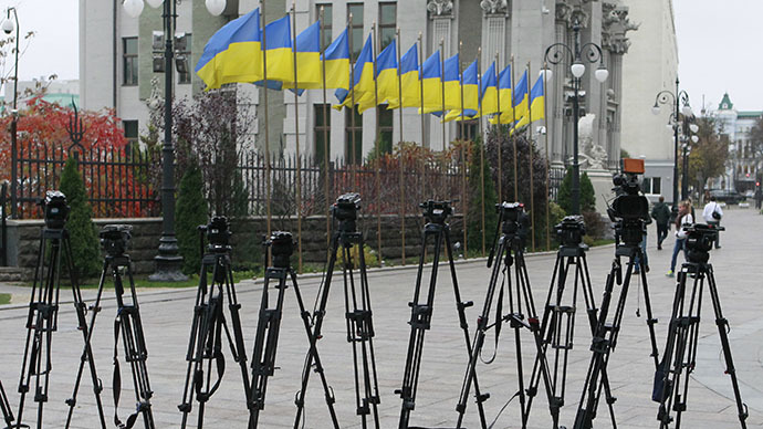 Russian journalists being banned entry to Ukraine to cover presidential election