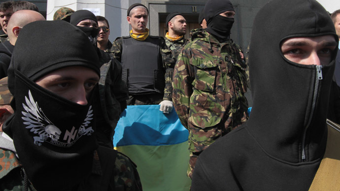 Ukraine's far-right leader calls for Right Sector's total mobilization