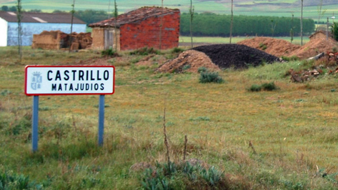 Spanish 'Kill Jews' village considers changing its name to drop anti-Semitic phrase