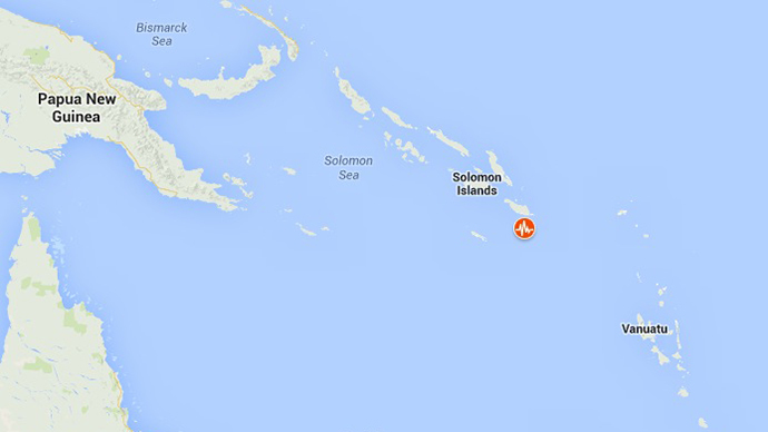 7 5 magnitude earthquake strikes off Solomon islands, second