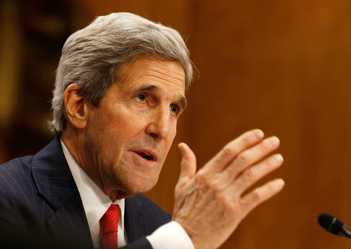 U.S. Secretary of State John Kerry (Reuters / Larry Downing)